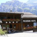 Mountain Hostel - Gimmelwald, Suisse (Photo tirée du site de l'auberge)