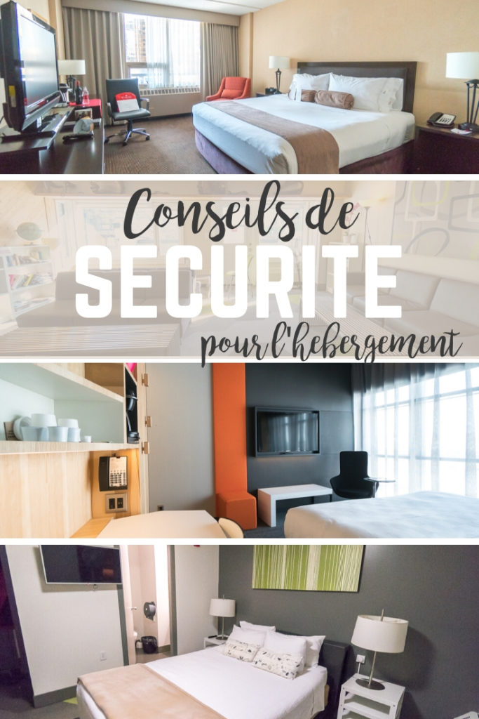 Rester sécuritaire à l'hôtel