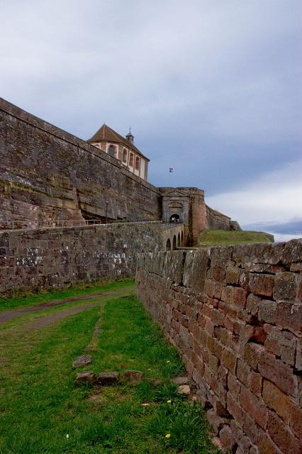La citadelle de Bitche en Lorraine