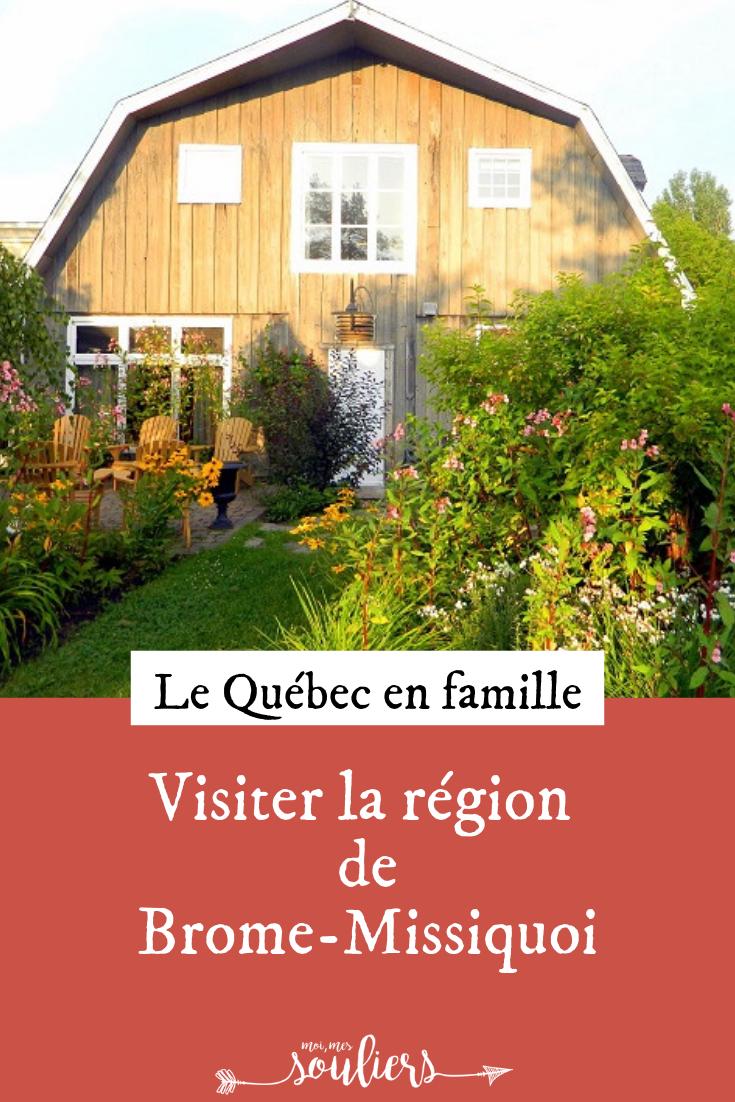 En famille au Québec dans Brome-Missisquoi