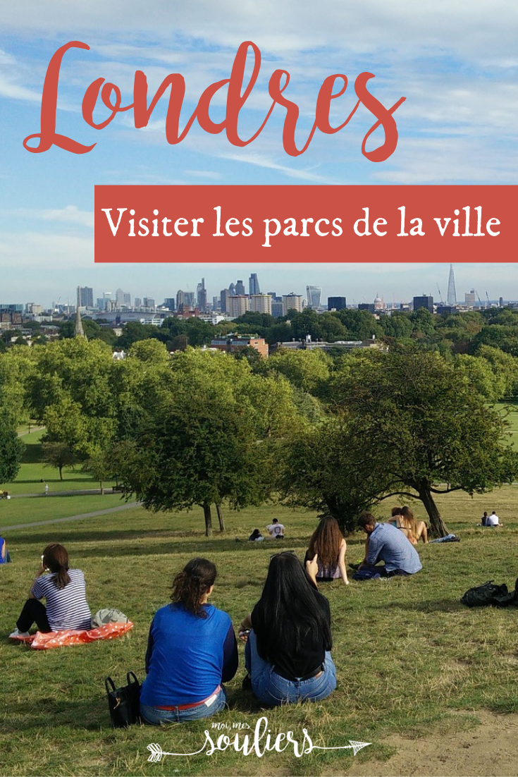 Visiter les parcs de Londres