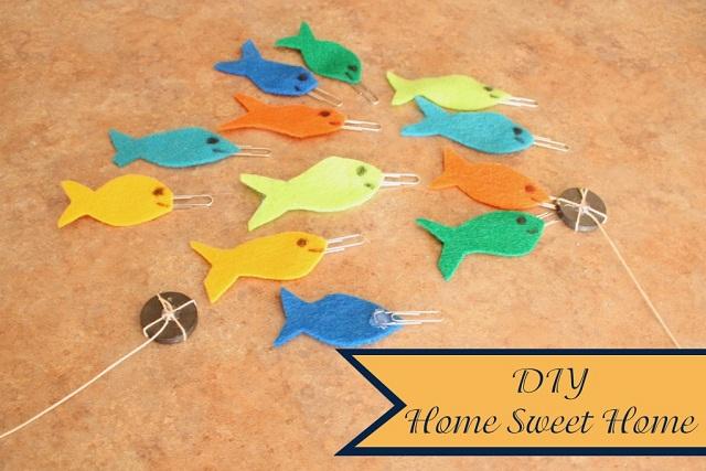 La pêche aimantée par DIY Home Sweet Home