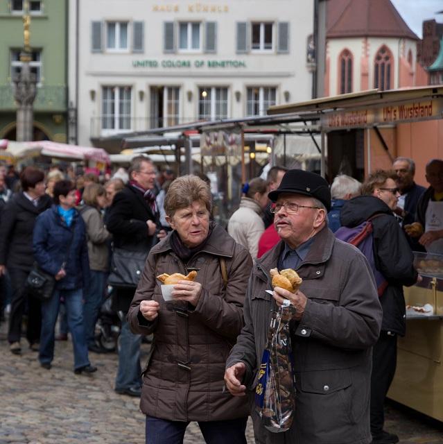 Une typique Bratwurst