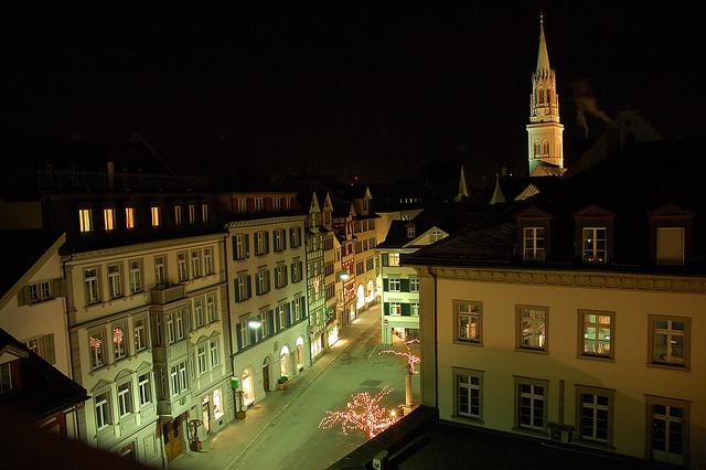 St. Gallen de nuit - Maja_x1 sur Flickr