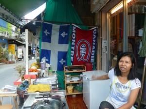 Le snack-bar d'Onnicha, à Bangkok