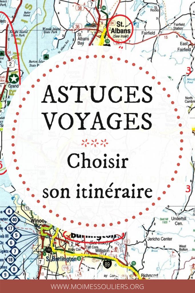 Choisir son itinéraire voyage