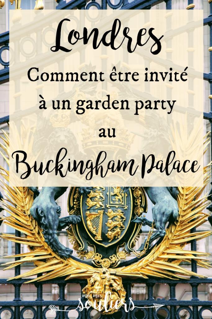 Comment être invité à un garden party au Buckingham Palace