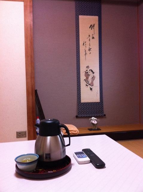 Ma chambre à l'auberge de Hagi
