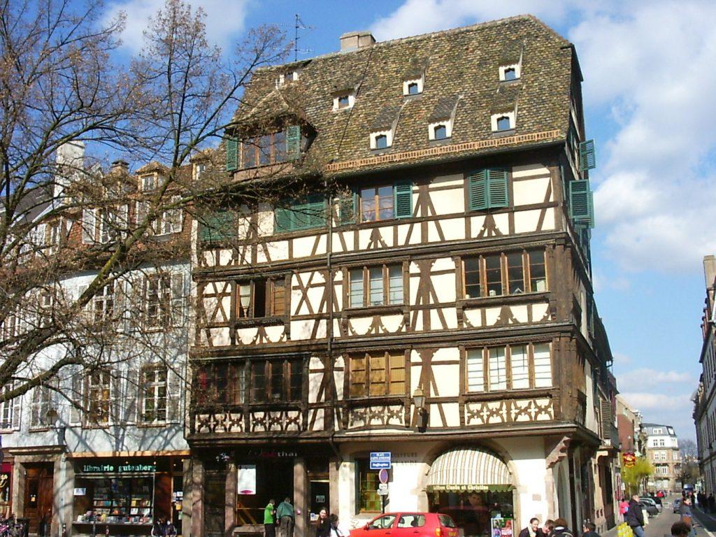 Maison à colombages de Strasbourg