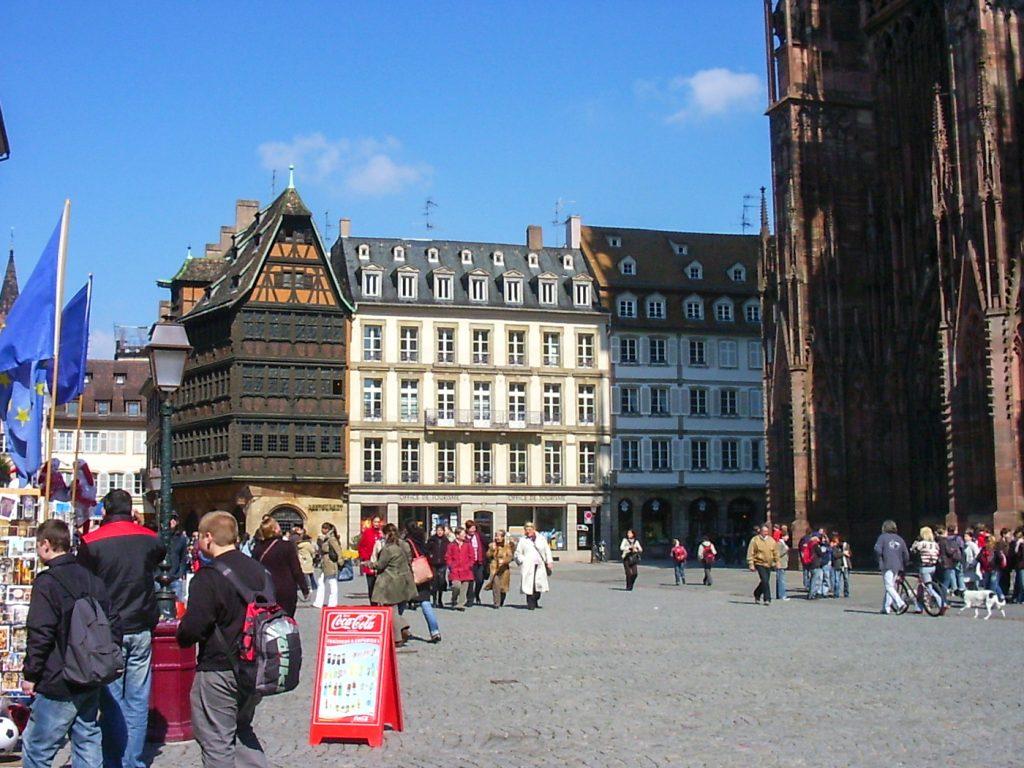 Place publique de Strasbourg
