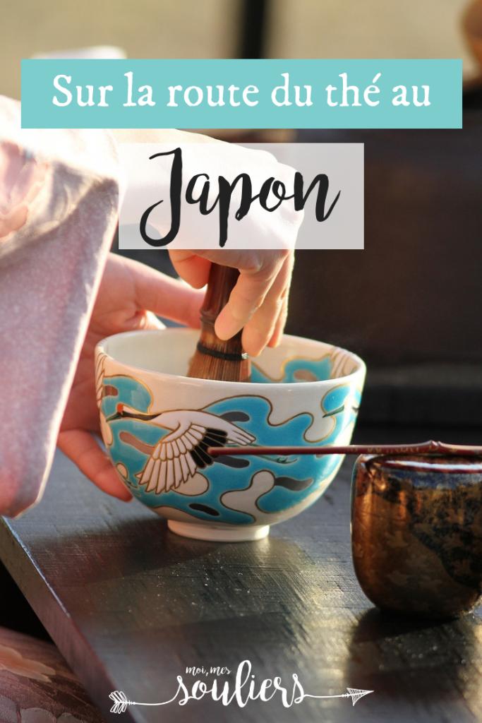 Sur la route du thé au Japon