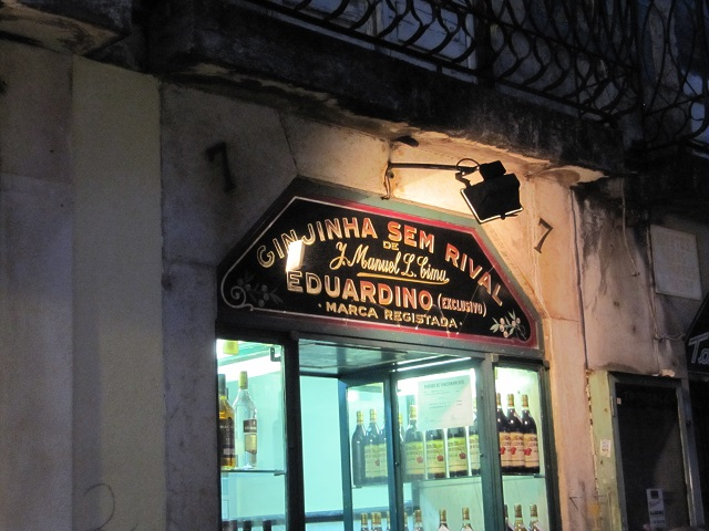 Comptoir de ginjinha