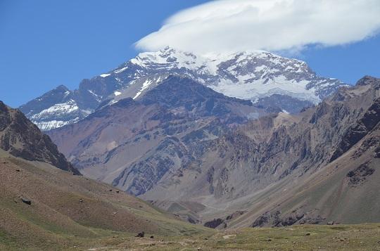 Aconcagua, Ruta 7, région de Mendoza