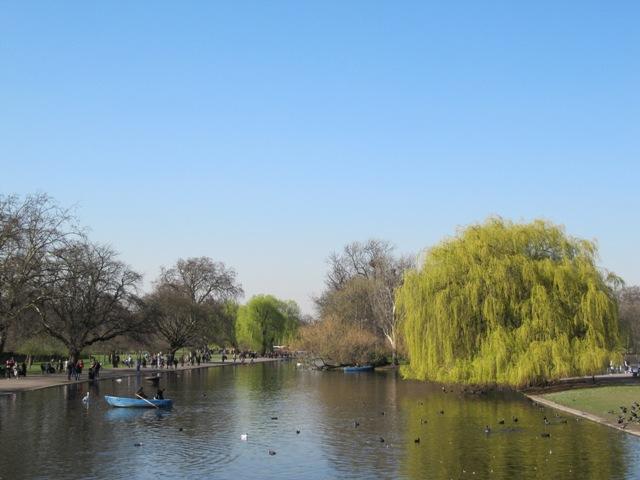 Regent's Park Londres parc