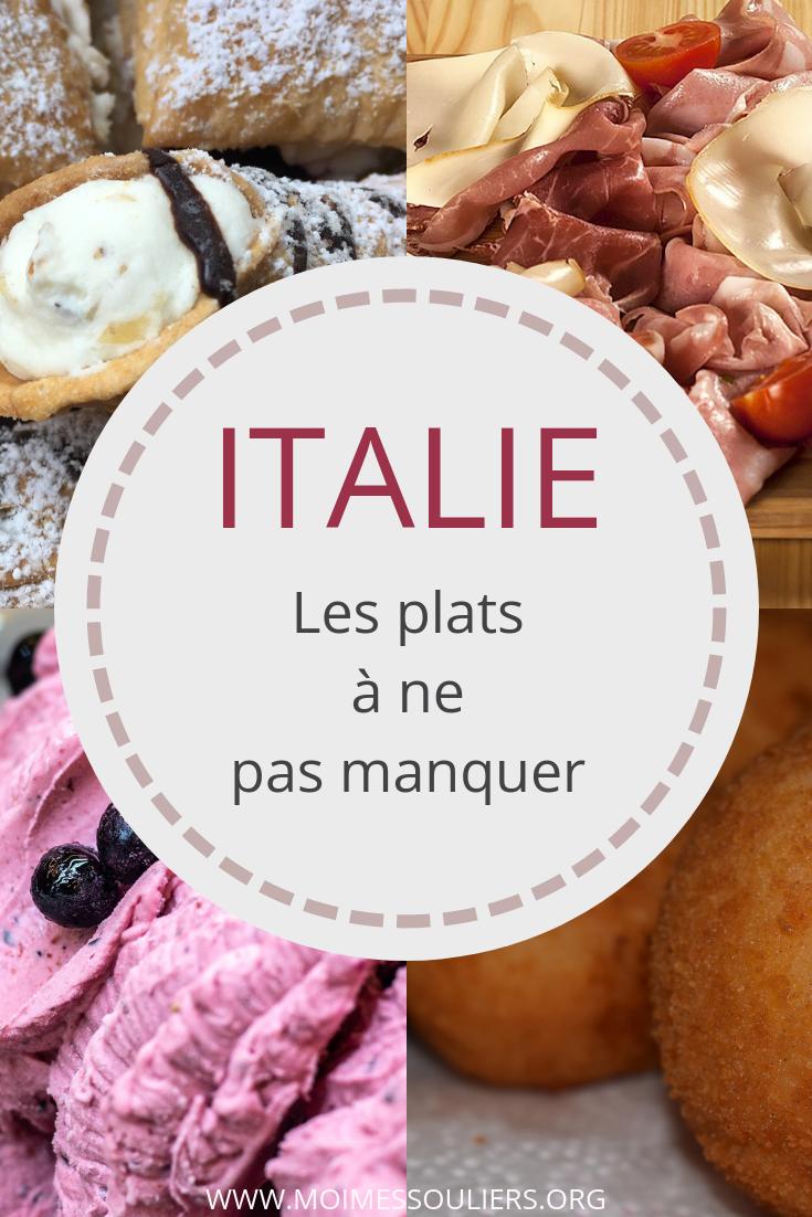 Gastronomie en Italie, les plats à ne pas manquer