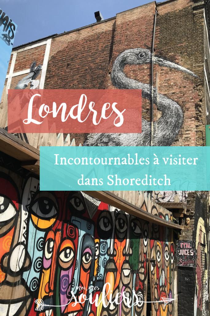 Shoreditch, destination tendance à voir à Londres