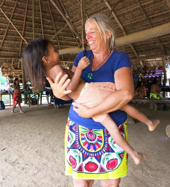 Anne Gordon Embera Panama