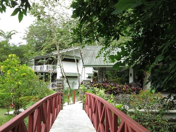 Canopy Lodge arrivée
