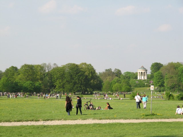 Englischer Garten Munich Allemagne