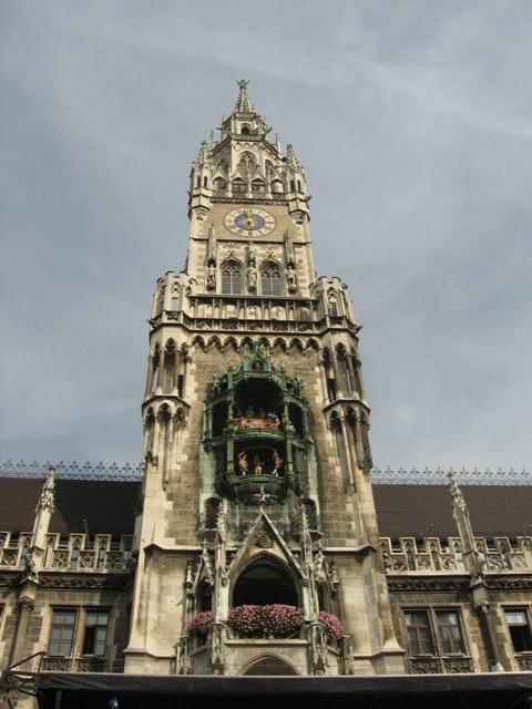 Glockenspiel Munich Allemagne