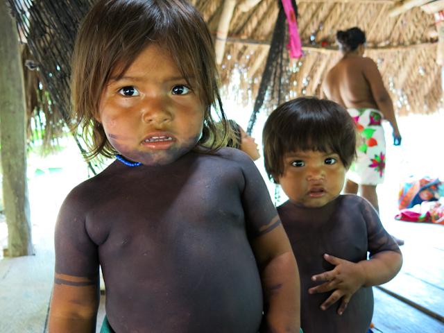 Embera enfants Panama