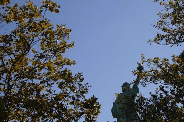 La Statue de la Liberté sera de nouveau ouverte au public à partir du 4 juillet. (Photo : Lucie Bataille)