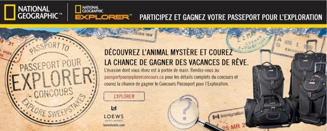 Passeport pour l'exploration - National Geographic