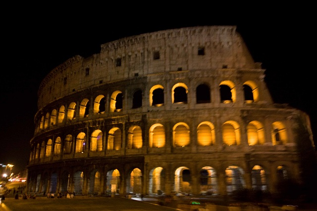 Colisée de nuit Italie Rome