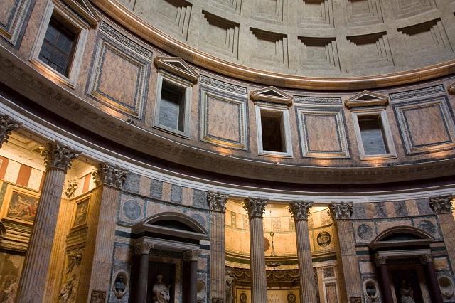 Coupole du Panthéon Italie Rome