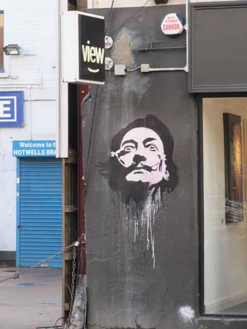 Dali, art de rue