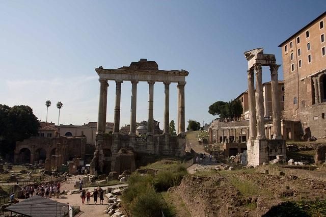 rome rues piétonnes