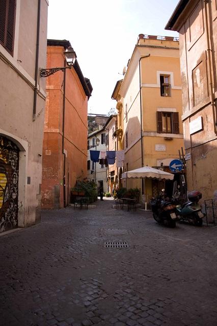 Les ruelles du Trastevere Italie Rome