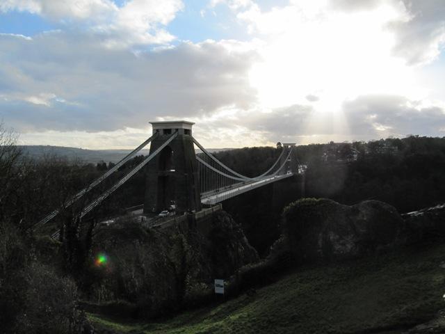 Pont Clifton et les gorges de la rivière Avon