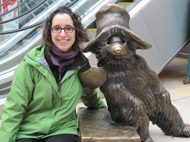 Vanessa et l'ours Paddington