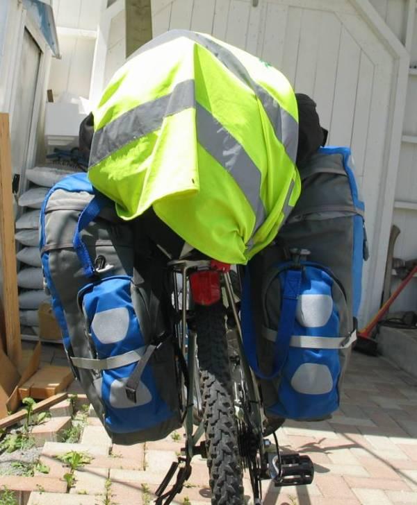 Le vélo bien chargé