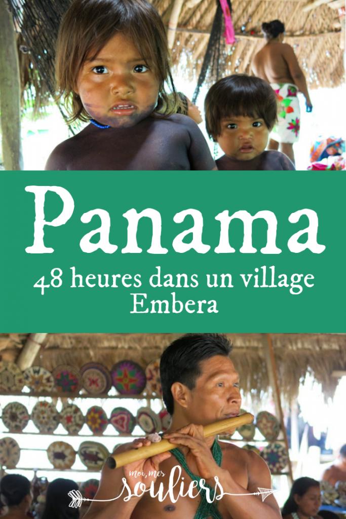 Panama - visite d'un village Embera
