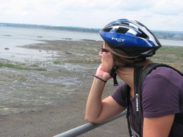 Nos vélos lors de notre trip à l'île d'Orléans