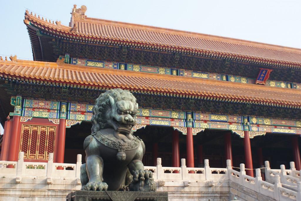 cité interdite dragon Beijing Pékin