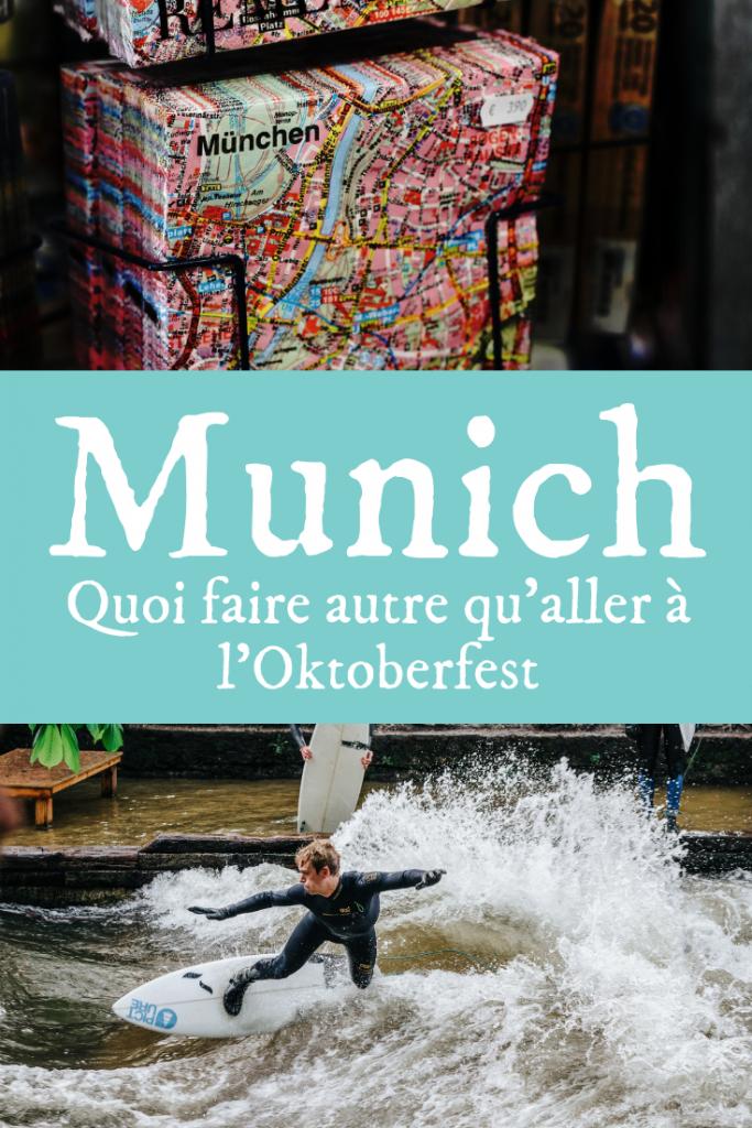 Munich au-delà de l'Oktoberfest