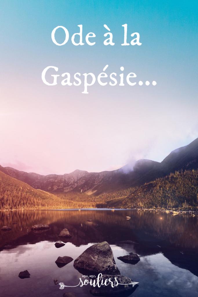 Ode à la Gaspésie