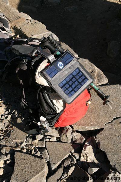 Freeloader Pro charger piles en voyage