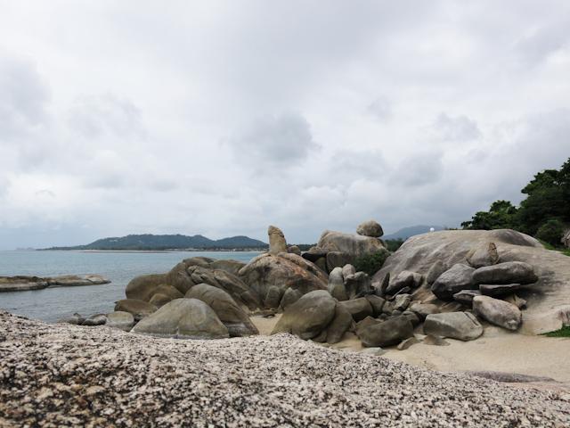 Hin Ta ou la roche grand-père Koh Samui Thailande