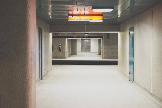 Metro de Montreal (photo : Lucie Bataille)