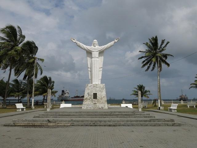 Statue de Colón Panama