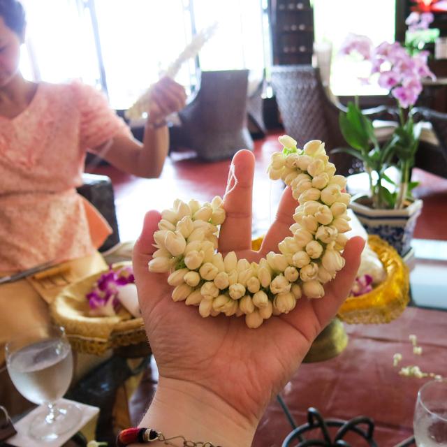 cours sur l'art floral Thailande Koh Samui