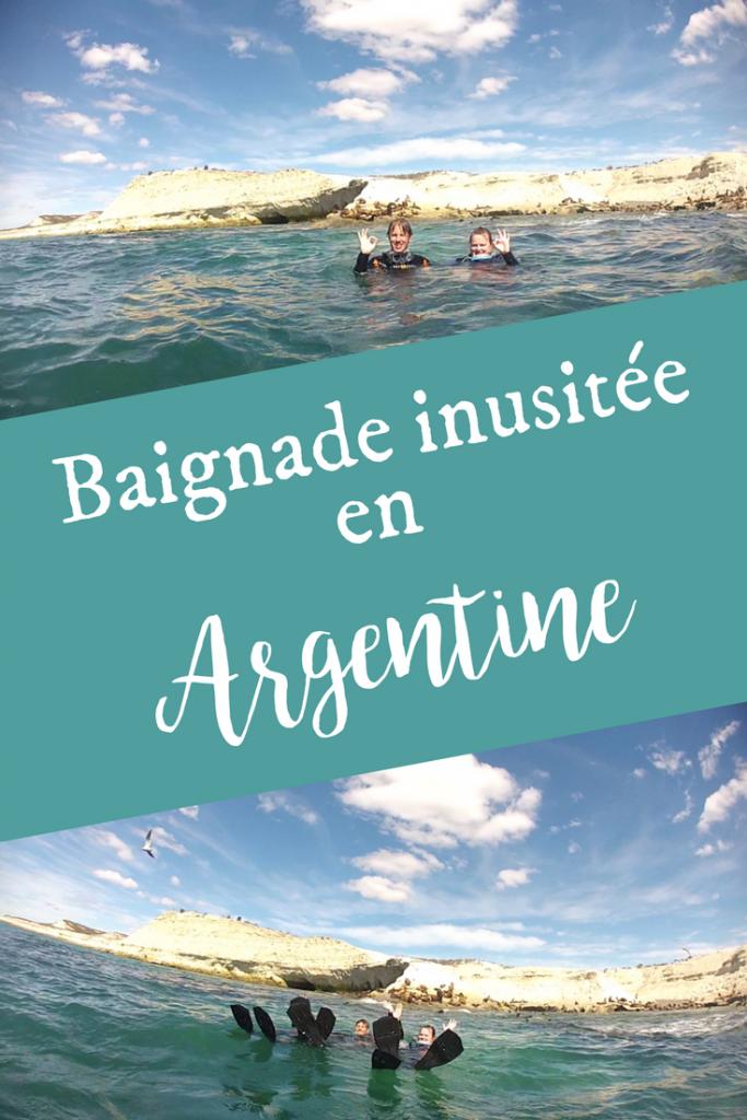 Baignade inusitée en Argentine