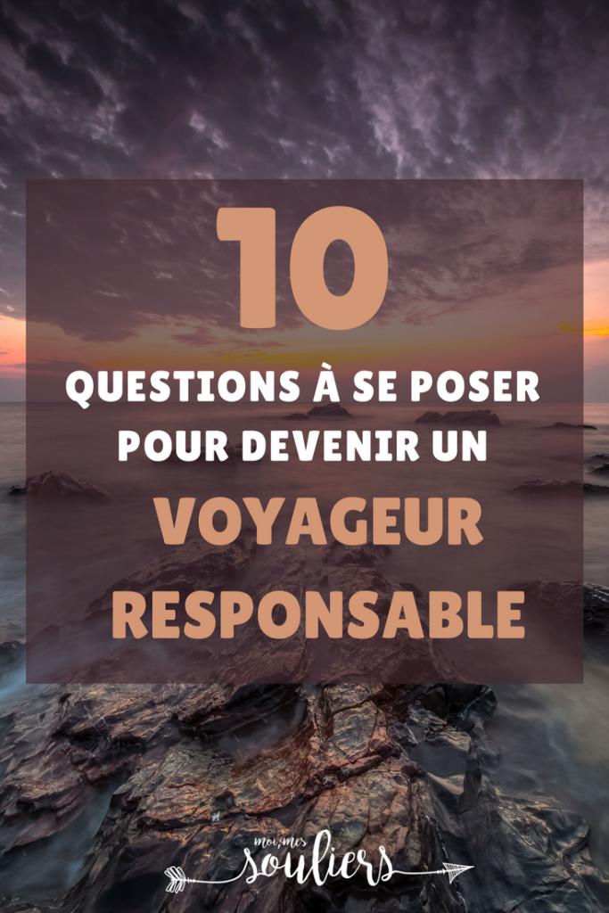 Top 10 questions à se poser pour devenir un voyageur écoresponsable