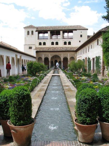 Alhambra de Granada, Espagne