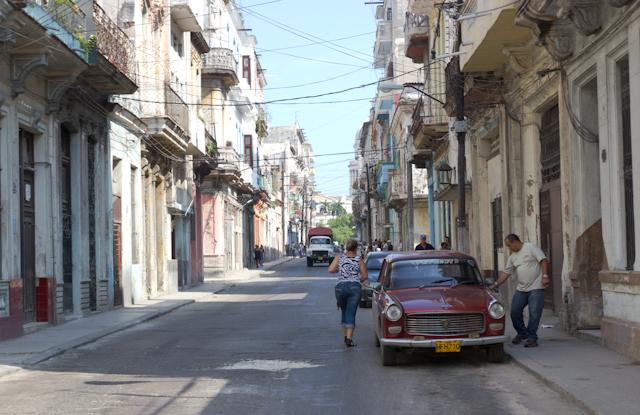 Dans les ruelles de La Havane, Cuba