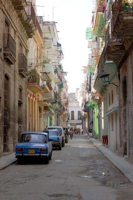 Dans les rues de la vieille Havane, Cuba
